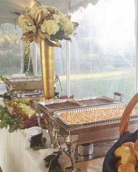 Outdoor Full Catered Buffet, Catering Company, Louisville, KY